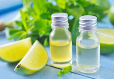Aroma oil Stock Images