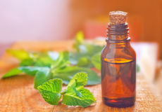 Aroma oil. In the glass bottle Royalty Free Stock Photo