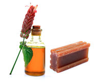 Aroma oil and soap Royalty Free Stock Photo