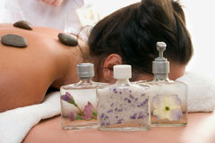 Aroma Products day spa stock photos