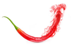 The aroma of red pepper Royalty Free Stock Photos