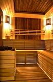 Aroma sauna. In a SPA centre stock image