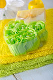 Aroma soap Stock Images