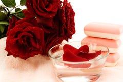 aroma soap spa επεξεργασία Στοκ εικόνα με δικαίωμα ελεύθερης χρήσης