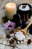 Aroma spa σύνολο Στοκ Φωτογραφίες