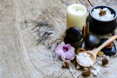 Aroma spa σύνολο Στοκ εικόνες με δικαίωμα ελεύθερης χρήσης