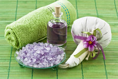 Aroma SPA set Royalty Free Stock Images