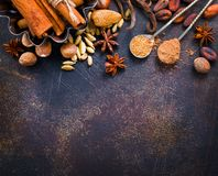 Aroma spice Stock Images