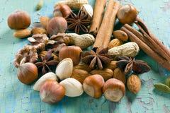 Aroma spices Stock Photo