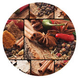 Aroma spices Royalty Free Stock Images
