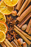 Aroma spices Stock Image
