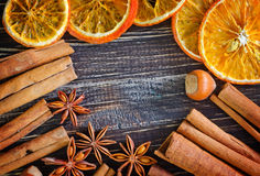 Aroma spices Stock Photography