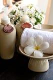 Aroma stellte für Badekurort ein Stockbild