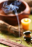 Aroma sticks in the spa salon. Stock Photography
