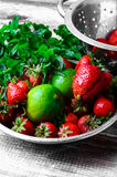 Aroma of summer fruits Stock Photography