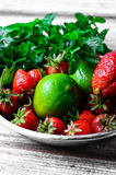 Aroma of summer fruits Royalty Free Stock Images