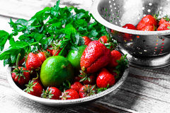 Aroma of summer fruits Royalty Free Stock Photos