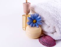 Aroma Therapy. Smooth and vibrant colors Royalty Free Stock Images