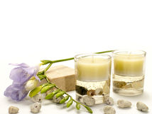 Aroma therapy Stock Photography