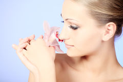 Aroma therapy Stock Image