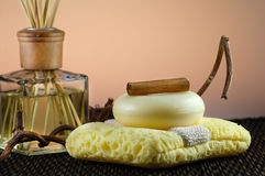 Aroma therapy Royalty Free Stock Images