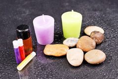 Aroma Therapy Kit Royalty Free Stock Images