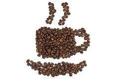 Aroma van koffie Stock Foto