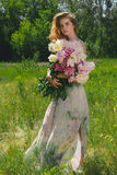Aroma von Sommerblumen Lizenzfreies Stockfoto