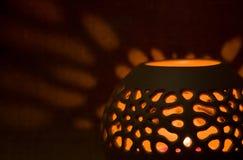 Aromalampe Stockfoto