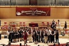 aromanian singers Στοκ Φωτογραφία