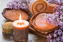 Aromat świeczka zdjęcia royalty free