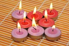 aromat κεριά συστοιχίας Στοκ εικόνες με δικαίωμα ελεύθερης χρήσης