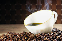 Aromat kawa Obraz Stock