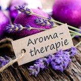 Aromat terapia Zdjęcia Royalty Free