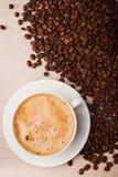 Aromata cappuccino napój Zdjęcia Royalty Free