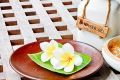 aromata kwiatów sól fotografia stock