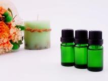 Aromata olej zdjęcie stock