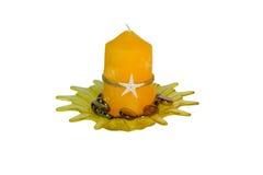 aromata świeczki talerz Zdjęcie Stock