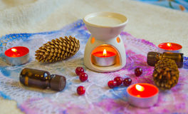 Aromaterapia Imagens de Stock