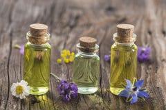 Aromaterapia e scienza Fotografia Stock