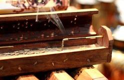 Aromatherapieräucherstäbchen Stockfoto