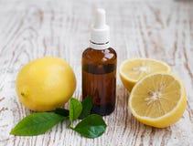 Aromatherapiezitrone Lizenzfreie Stockfotografie