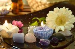 aromatherapy处理 免版税图库摄影