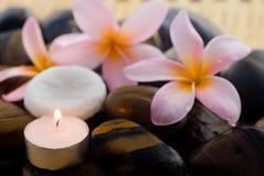 aromatherapy放松温泉 库存照片