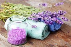 aromatherapy温泉 库存照片