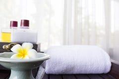 aromatherapy温泉 免版税库存照片