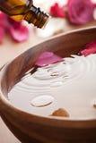 aromatherapy精油 库存图片