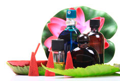 aromatherapy项目 免版税库存照片