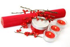 Aromatherapy,温泉,按摩 免版税库存图片