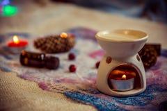aromatherapy światła Zdjęcie Royalty Free